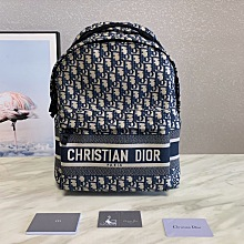 Dior Oblique  New backpack中性风格...